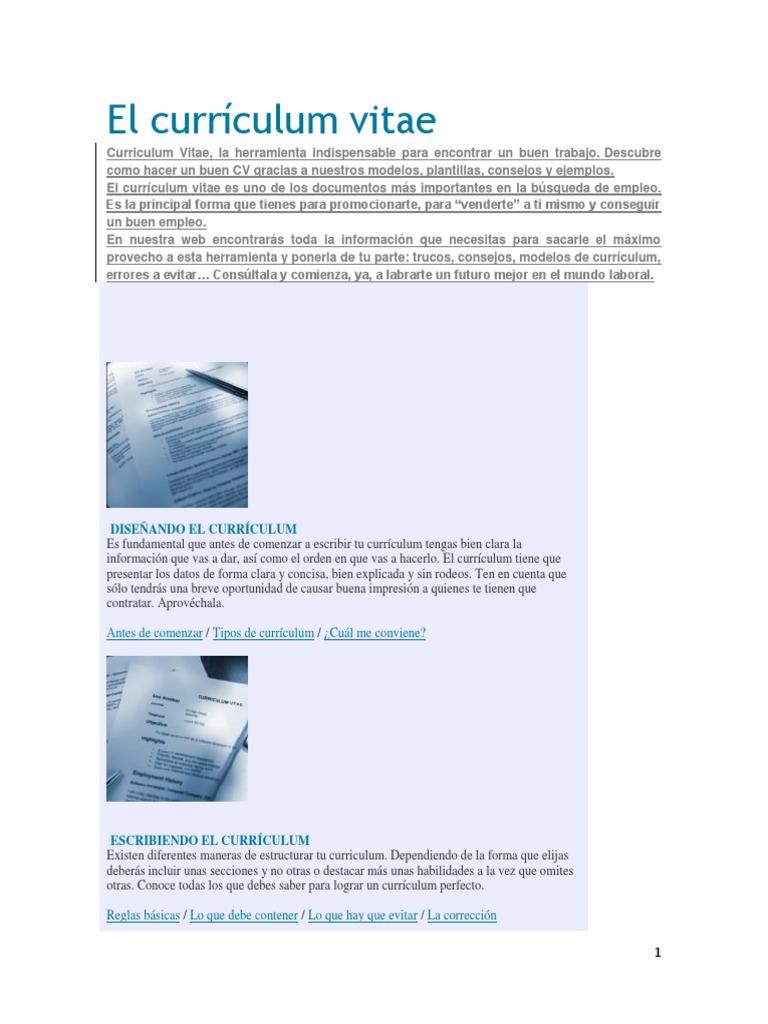 Famoso Buena Sección Resumen De Currículum Motivo - Ejemplo De ...