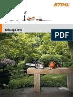 Catálogo STIHL 2010