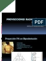 PROYECCIONES RADIOLÓGICAS DE TÓRAX