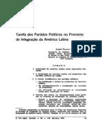 Franco Montoro - Tarefa dos partidos políticos no processo de integração da América Latina