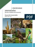 Especies Mexicanas Amenazadas