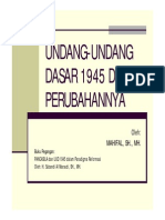Pancasila Dan UUD 1945