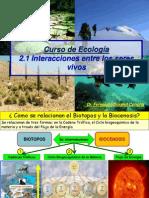2.1 Interaccion Entre Seres Vivos-cadena Trofica-ciclo Biogeoquimico 2013