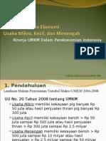 Statistik UMKM 2009