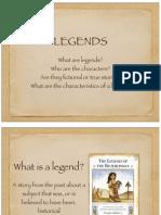 legendspresentation