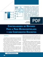Control de Motores PASO-PASO