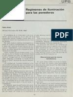 Programa de Iluminacion Gallinas Ponedoras