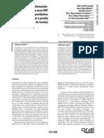 Analisis Angulo de Deflexion de Acrco Niti
