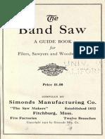 1921 BandsawGuideBook SimondsMfg Ne