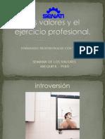 Formando Profesionales Con Valores