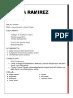 aylissa ramirez resume