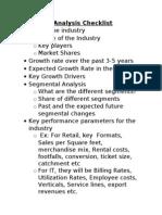 Industry Analysis_