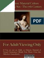 Romance & Sex - 17th Century