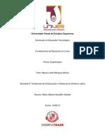 Tenencias de la Educación a Distancia en América Latina