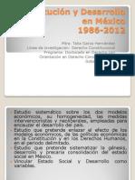Constitución y Desarrollo en México