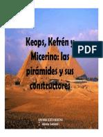 Unidad 1 Keops, Kefrén y Micerino - Dayana Lizeth Bedoya