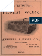 1904-Instruments for Forest Work-Ne