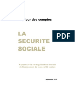 Rapport Securite Sociale 2012 Version Integrale