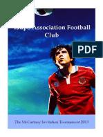 Tournament Booklet
