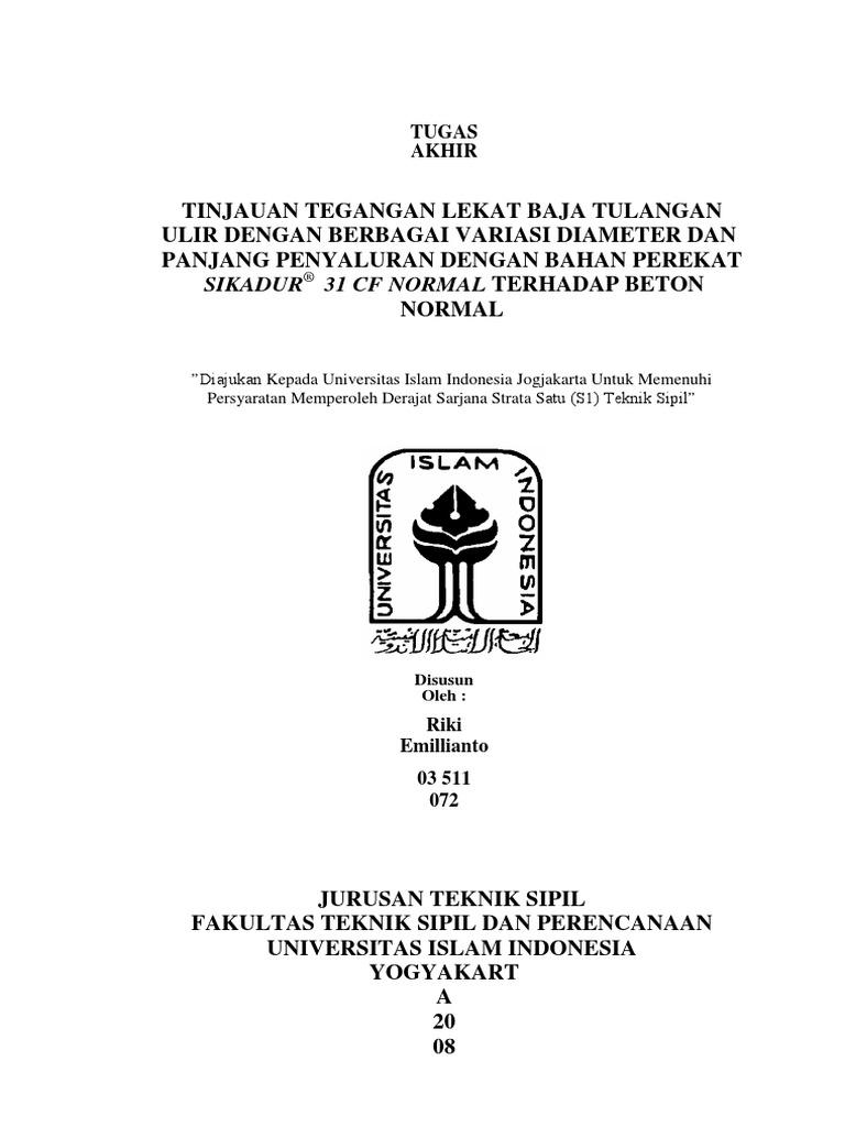 Skripsi manajemen konstruksi teknik sipil pdf