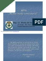 APRV-Nuevo Modo Ventilatorio