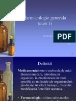 Curs 1 Farmacologie Generala p1