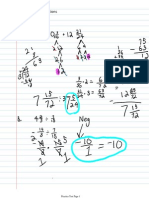Fractions Test Corrections