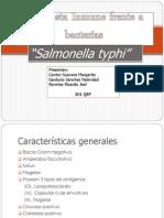 Salmonella. Inmuno