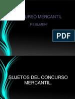 resumen concurso mercantil