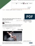 Miley Cyrus, Britney Spears, Rihanna Et Leurs Clips Sexy _ Sinead O'Connor Est Hors-sujet - Le Plus