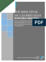 Informe de Brigadas