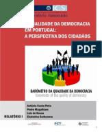 A Qualidad Da Democracia Em Portugal Proy