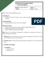 Plan de mejoramiento 4-3 (Inglés - 3º periodo)