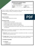 Plan de mejoramiento 4-3 (Castellano - 3º periodo)