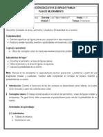 Plan de mejoramiento 4-3 (Geometría y Estadística - 3º periodo)