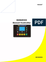 GU641CC Genset Controller Operation Manual