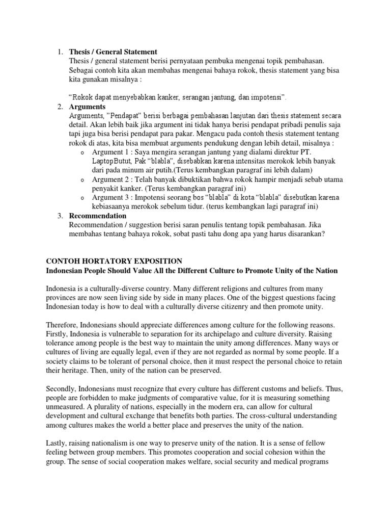 Hortatory Text