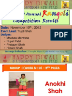 Rangoli & Cooking competition winners_2012