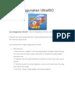 Cara Menggunakan UltraISO