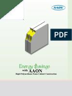 AAON Foam Panel Construction