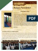 Newsletter Oktober 2013