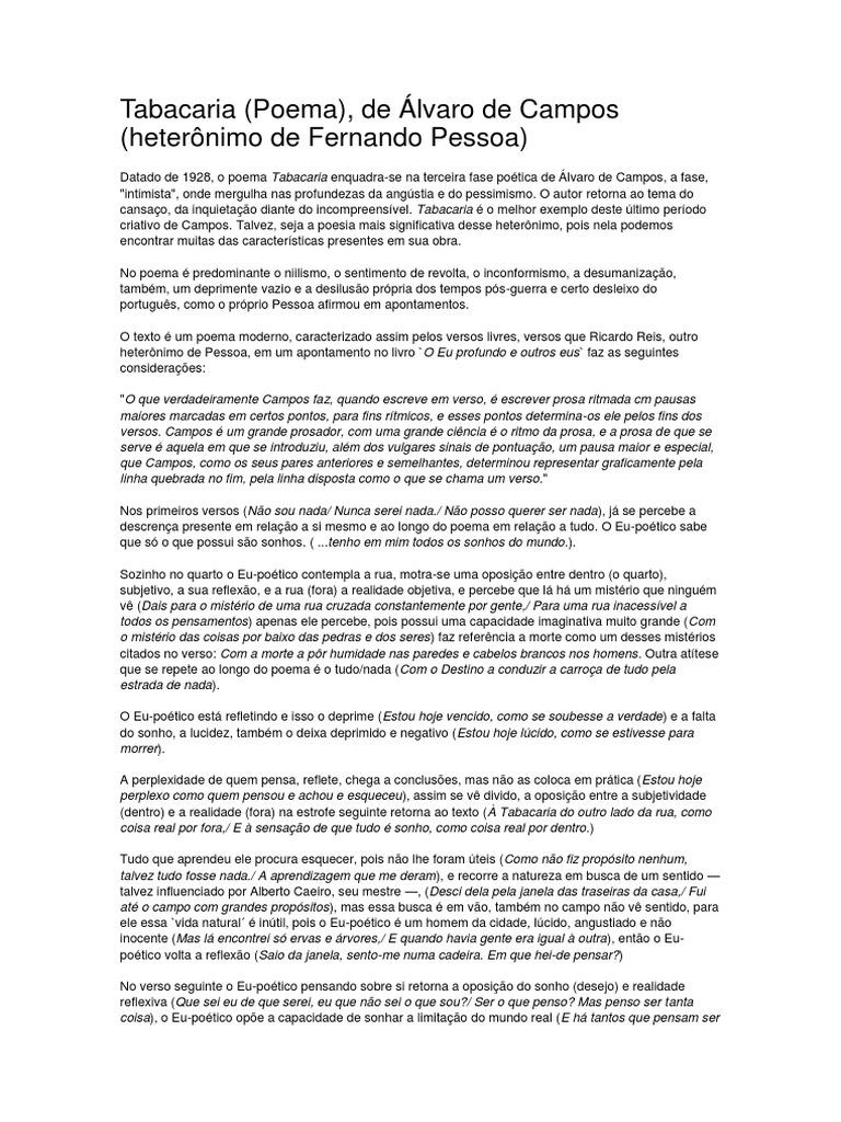 A tabacaria pdf