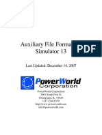 Auxiliary File Format 13