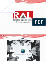 Radiohms Agencies Ltd (India's largest fmcg company) .::. Corporate Presentation