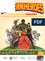 """""""Modern Heroes"""" child rights comic 