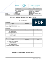 Ppg-gdch-nur-42 Policy on Patient Identification