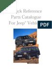 Jeep Parts Catalog - 20 Years Complete (XJ, YJ, ZJ, CJ & J/SJ)