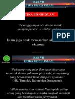 Etika Bisnis Islami