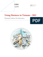 Doing Business in Vietnam 2013