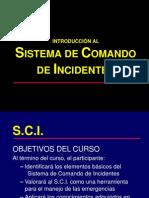 SCI Sistema de Comando de Incidentes